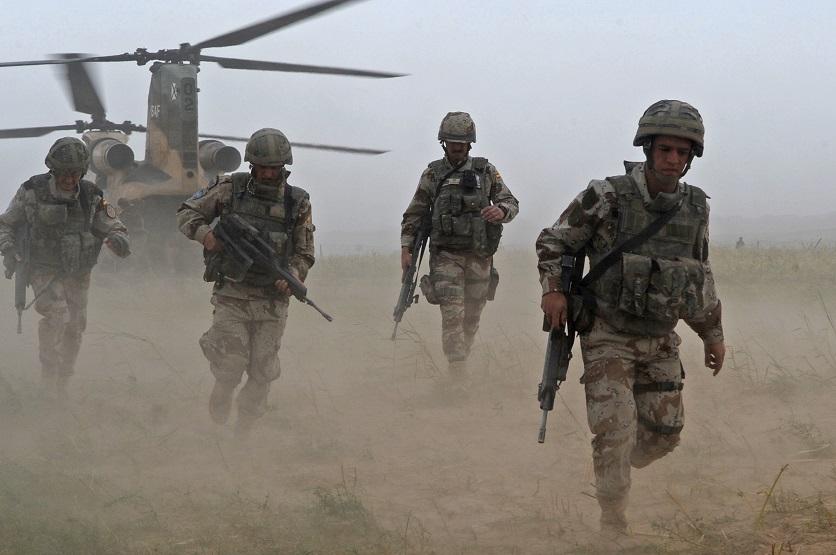 Soldats espanyols en una missió internacional a l'Afganistan l'any 2008 / Departament de Defensa dels EUA