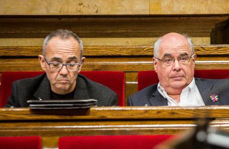 La CUP es va reunir amb Coscubiela i Rabell per explorar dues abstencions impossibles. Foto: Jordi Borràs