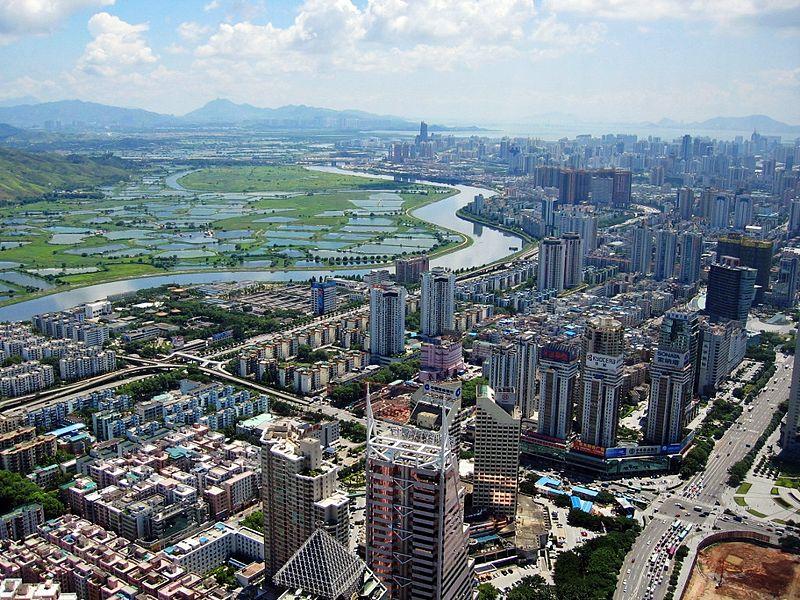 La ciutat de Shenzen, un dels grans pols econòmics de la Xina