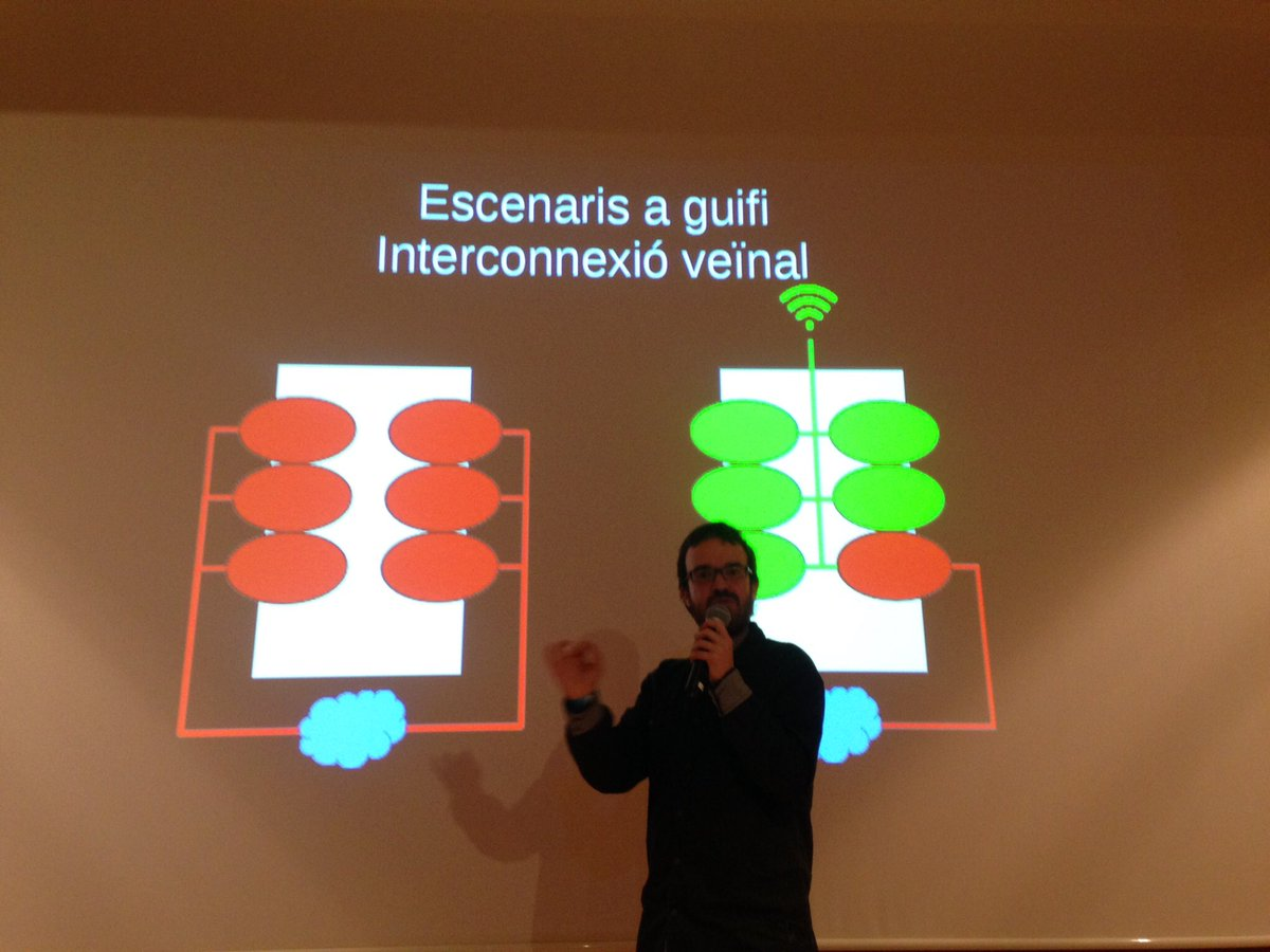 Una presentació al Sobtec / Foto: @_sobtec