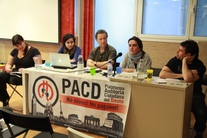"""La Plataforma Auditoria Ciutadana del Deute creu que no s'ha de pagar el """"deute il·legítim"""" / CIC"""