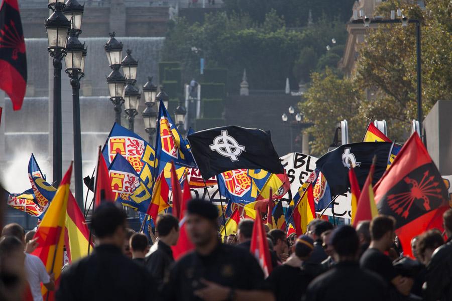 Membres de Democracia Nacional / JORDI BORRÀS