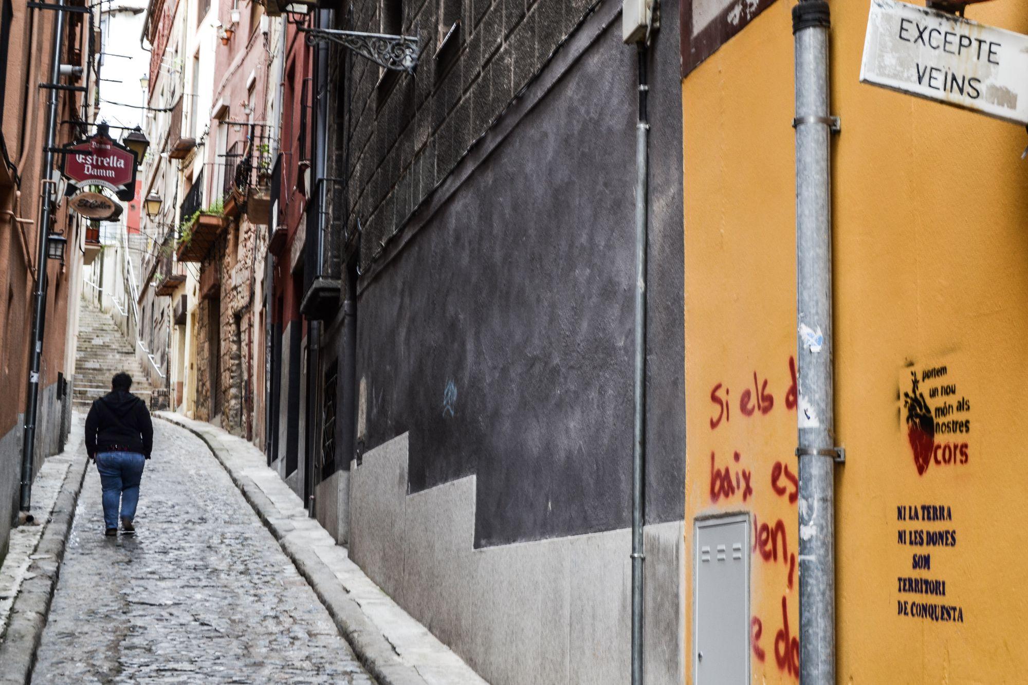 Un carrer del centre de la ciutat / MAR ROMERO