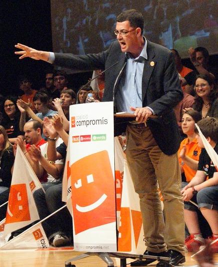 Enric Morera, líder del BLOC entre 2003 i 2016 i coportaveu de Compromís