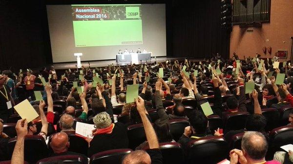 La recent assemblea d'Esparreguera / CUP
