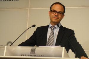 Jordi Turull, president del grup parlamentari de Junts pel Sí