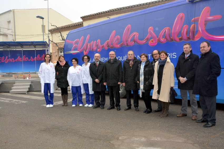 La inauguració del bus de la Salut / DIPUTACIÓ DE LLEIDA