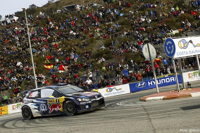 Un imatge del Ralli RACC - Costa Daurada de l'any passat / WRC