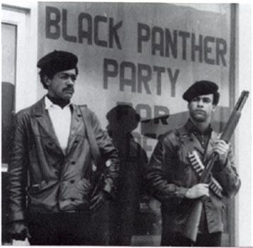 Membres armats del Partit dels Panteres Negres