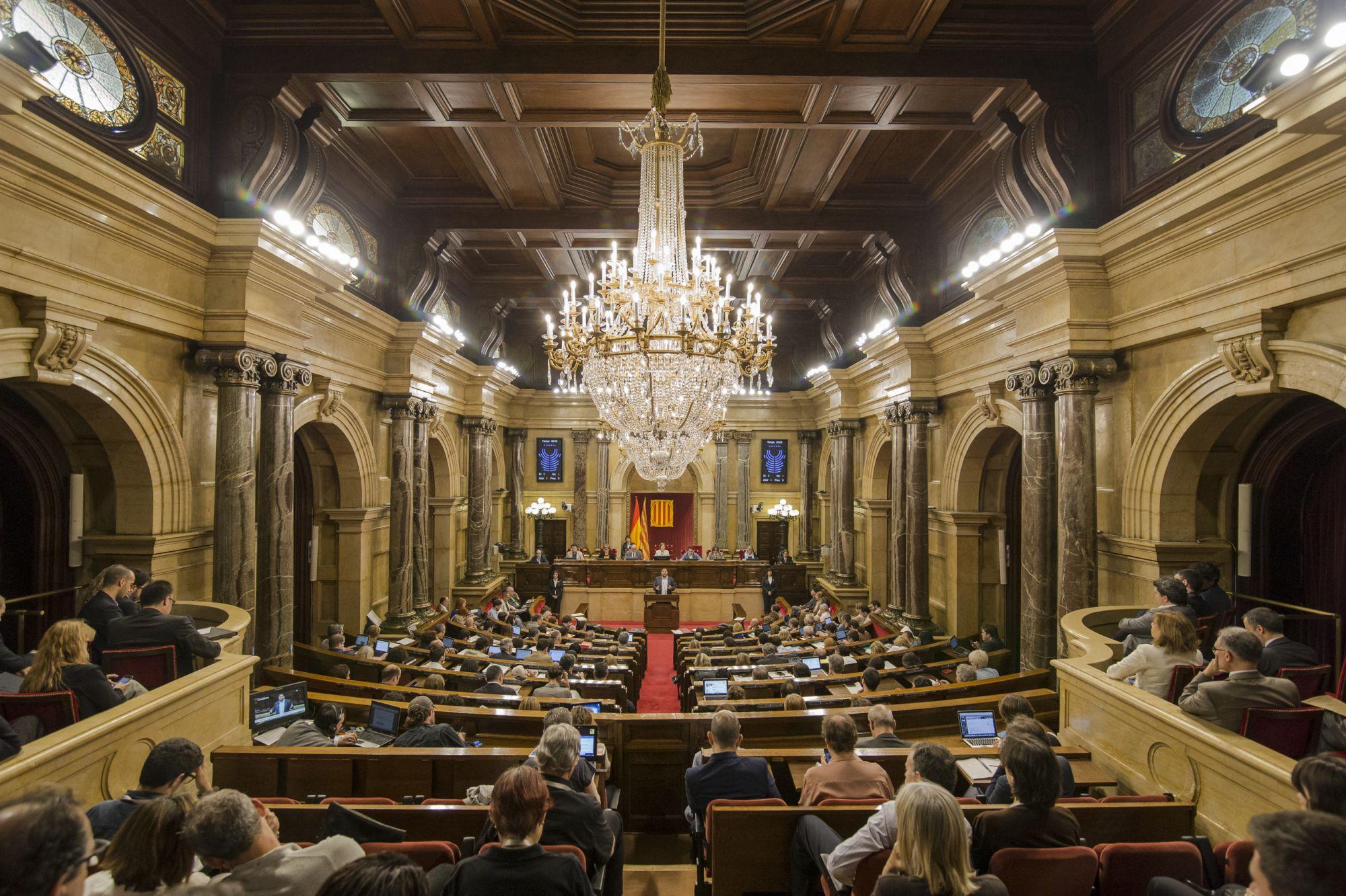 Una sessió del Parlament / JOB VERMEULEN