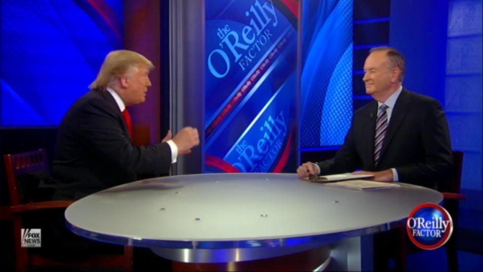 Donald Trump en un programa de la televisió nord-americana.