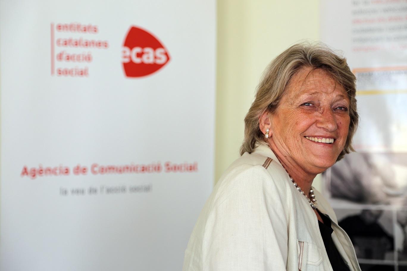 Teresa Crespo, presidenta d'ECAS / XARXANET