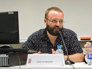 Carlos Macías, portaveu de la PAH / OBSERVATORI DESC
