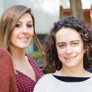 Laura Aznar i Laia Soldevila
