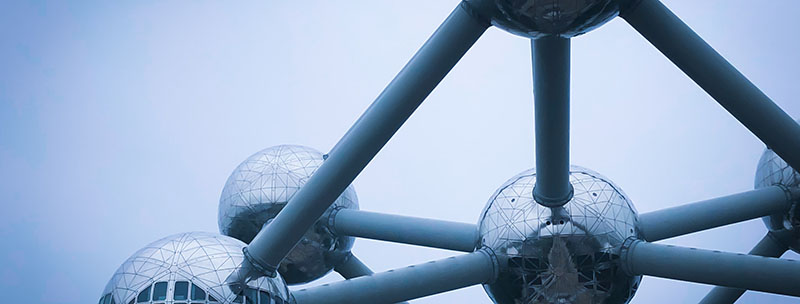 Metal sculpture in Brussels