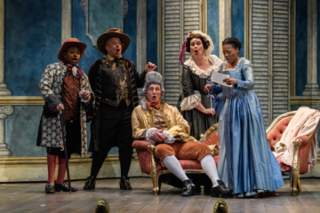 The ETO cast perform The Marriage of Figaro