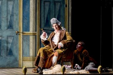 The Count and Cherubino in Firago