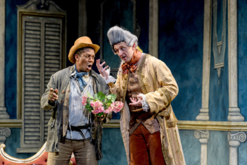 Antonio and the Count in Figaro
