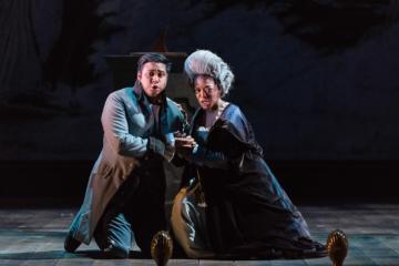 Firago and Barbarina in Figaro