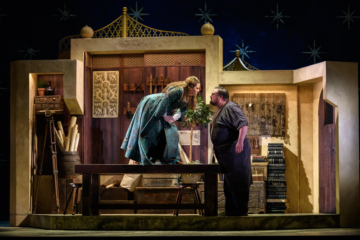 Production shot of The Seraglio