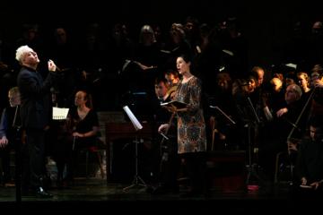 Soprano Susanna Hurrell sings and Jonathan Peter Kenny conducts the St John Passion at Hackney Empire
