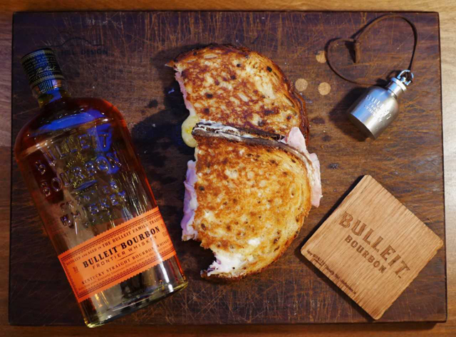 'Bite The Bulleit' Grilled Cheese Winter Menu Launch