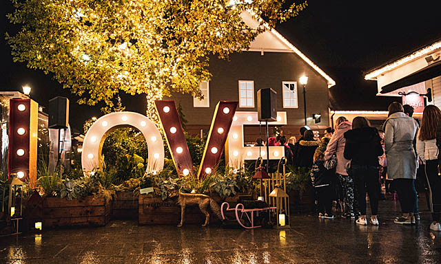 Enchanted Lights at Kildare Village
