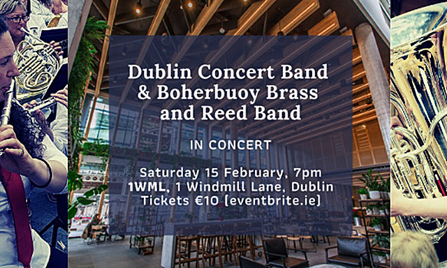 Dublin Concert Band, Boherbuoy Brass and Reed Band