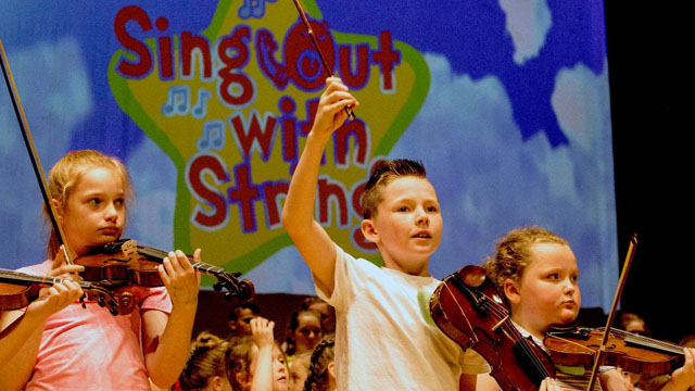 Sing Out With Strings Summer Camp 2019
