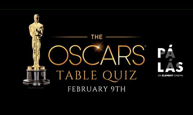Oscars Table Quiz
