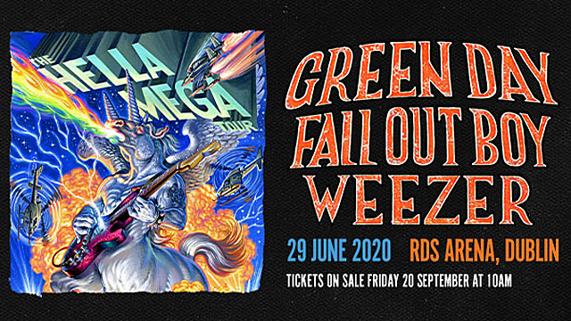 Green Day, Fall Out Boy & Weezer: The Hella Mega Tour