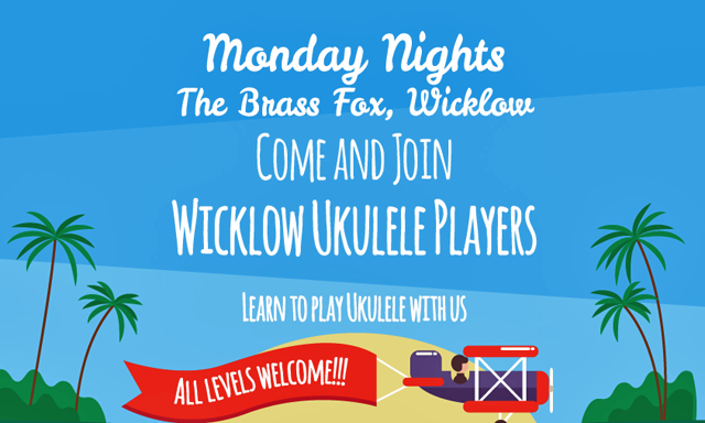 Learn to Play Ukulele with the Wicklow Ukelele Players