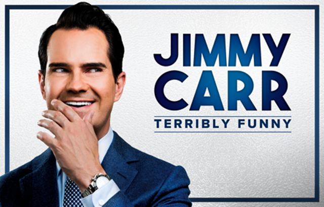 Jimmy Carr Terribly Funny Poster