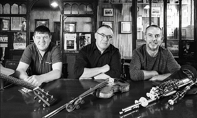 Trad Connections: Leonard Barry, Declan Folan & Shane McGowan