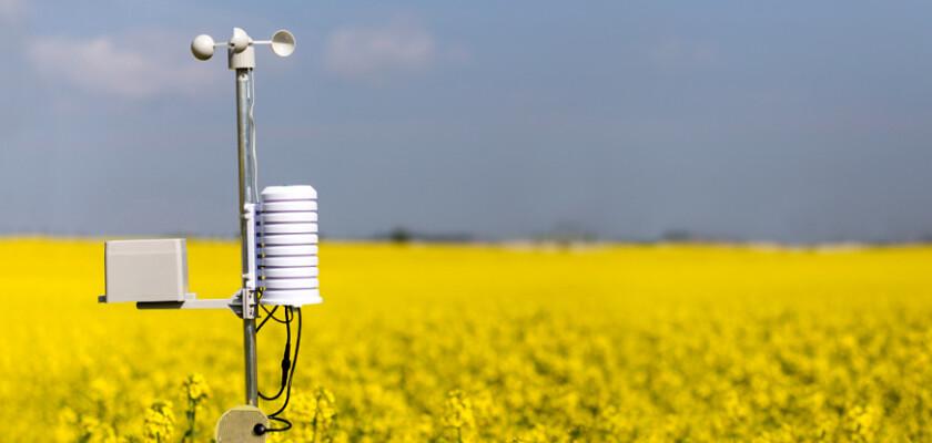 Meteorological Instruments in field