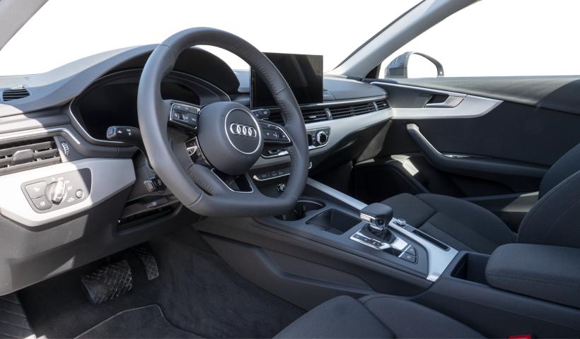 Audi a4 avant ohjaamo