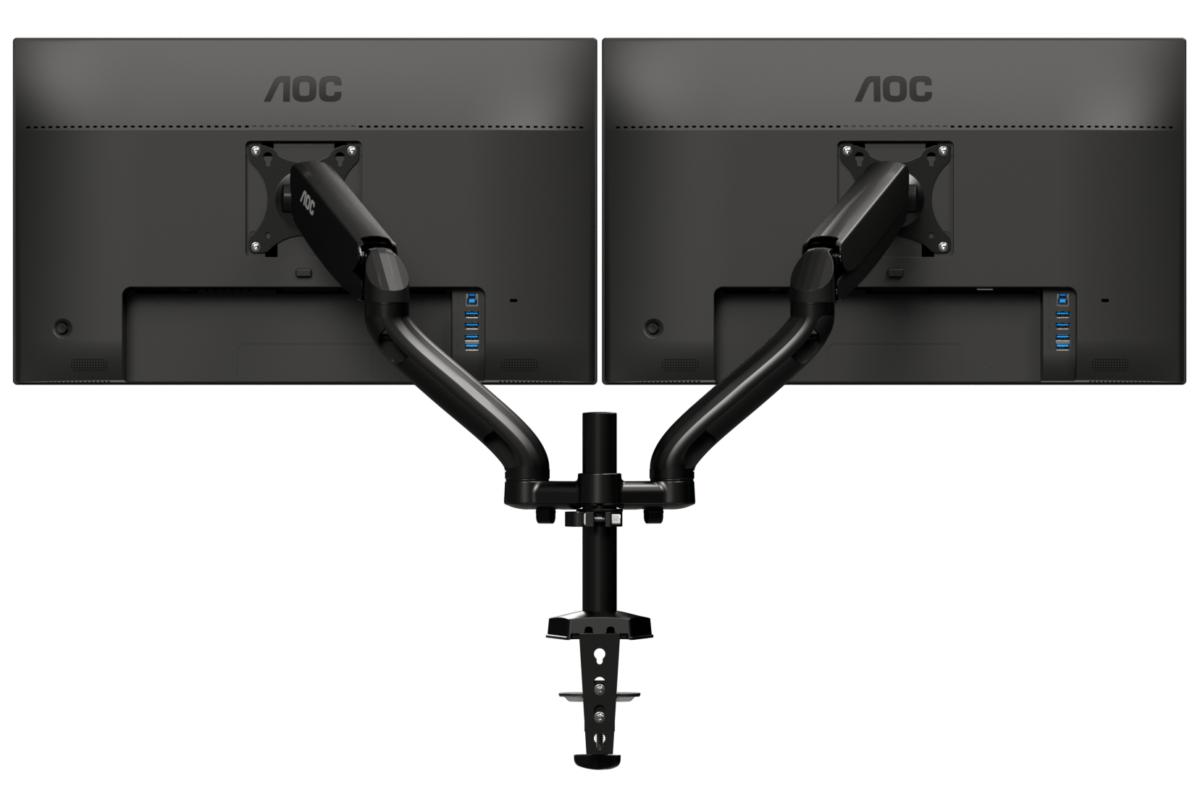 AOC AD110 dual monitor arm