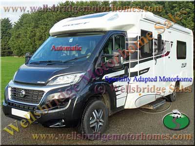 swift bolero wheelchair accessible motorhome