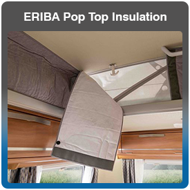ERIBA Touring Pop Top Roof Insulation for sale