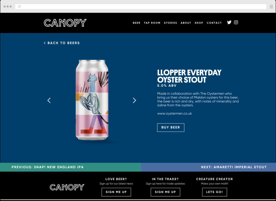 Canopy-beer
