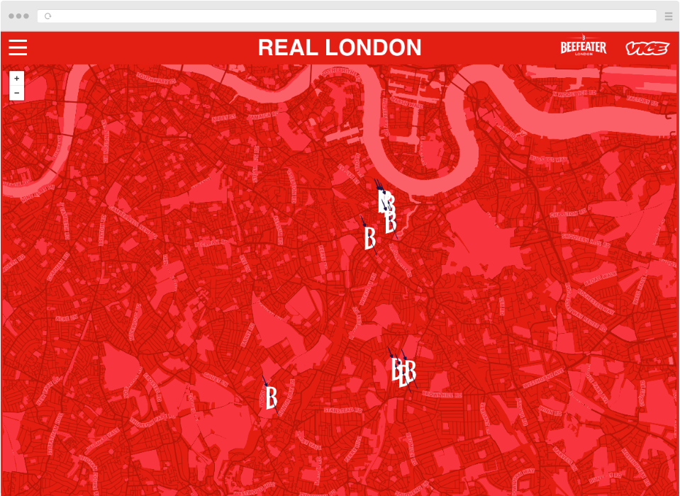 Real London Map