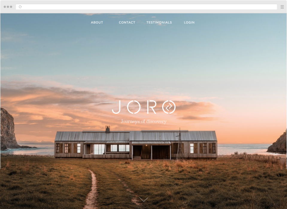 Joro Experiences Website by Simon Davies Craft CMS Developer