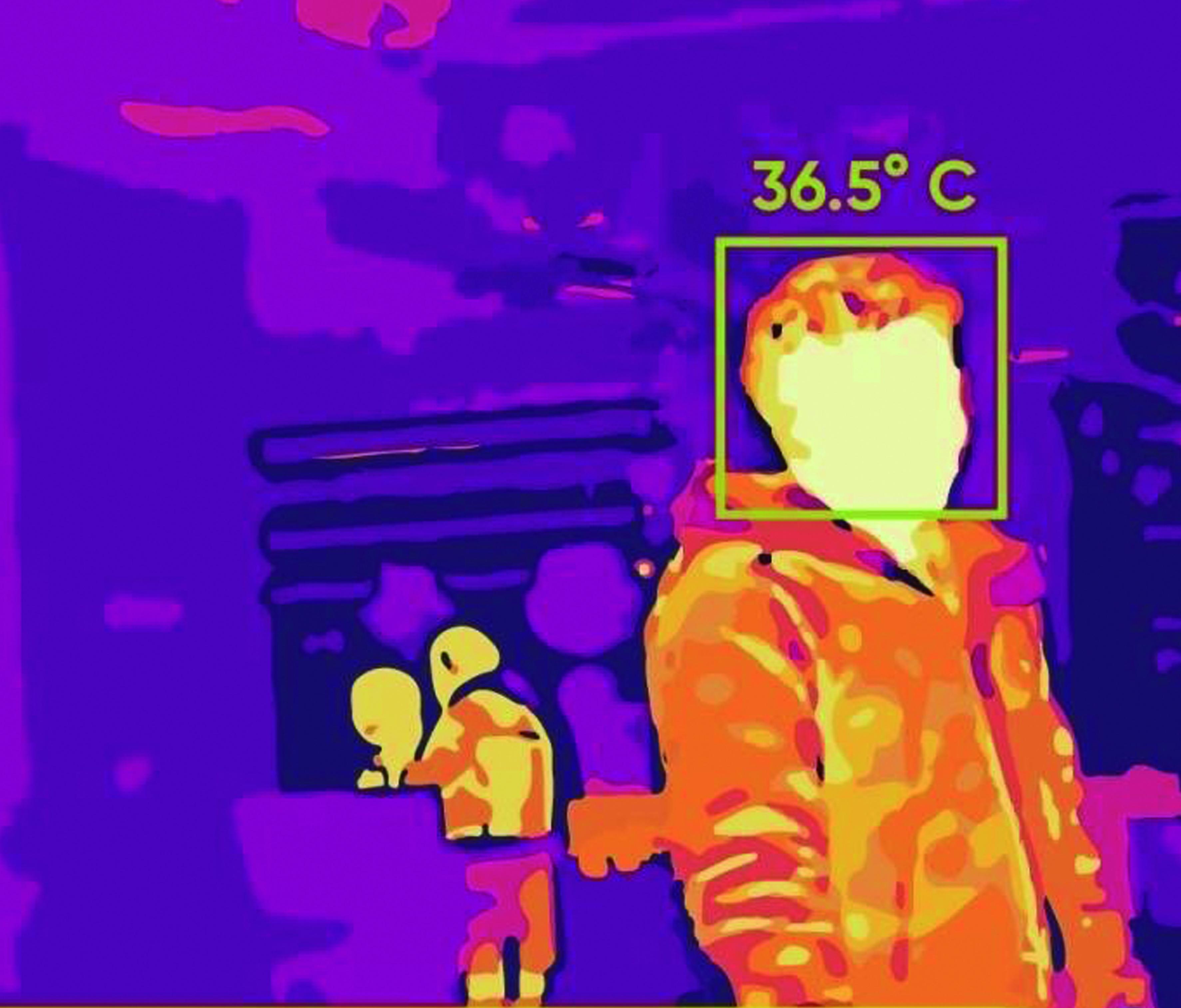 cámaras para medir temperatura con alta precisión Mercasat