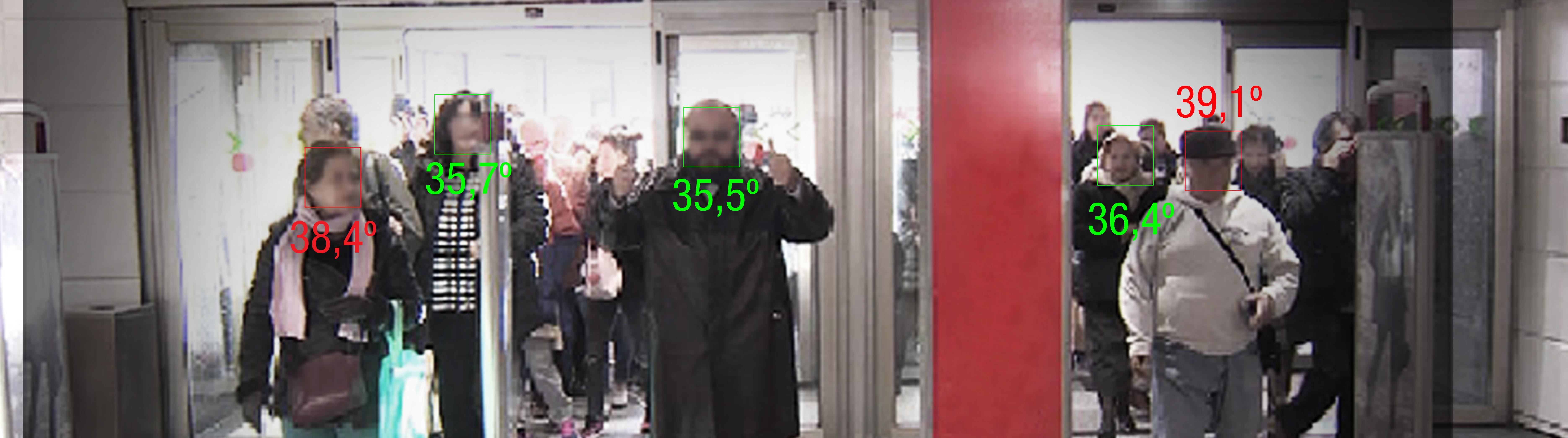 cámaras termográficas con medición de temperatura Mercasat