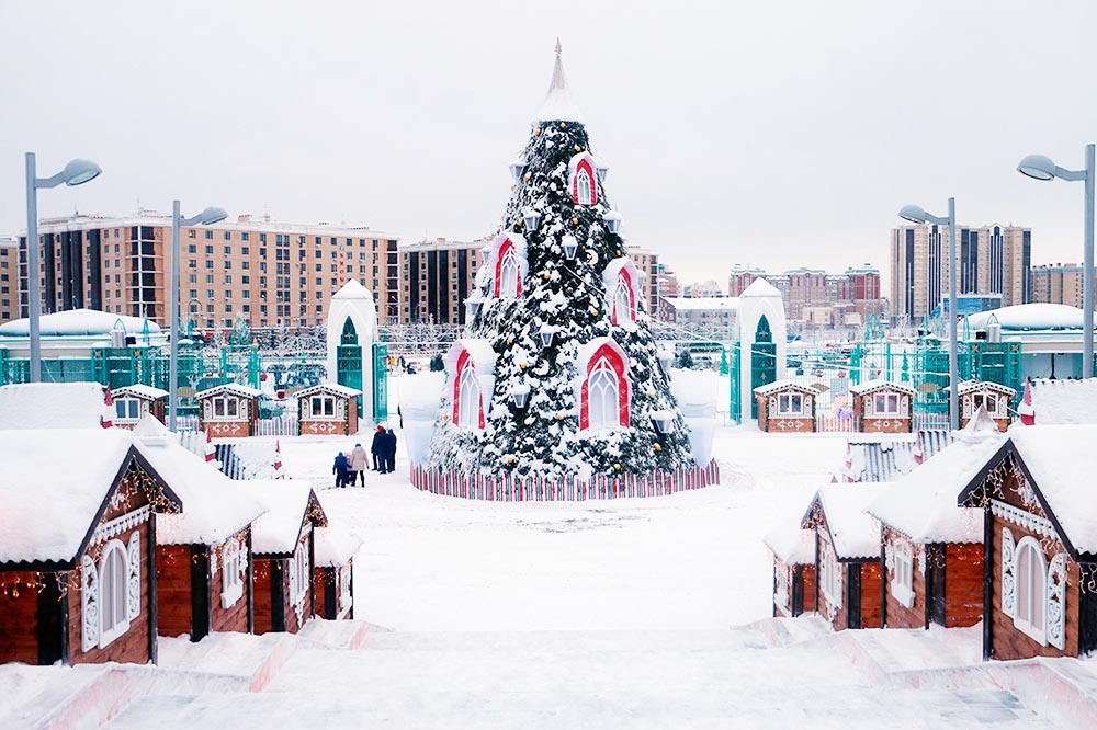 New Year's fairy tale in Kazan