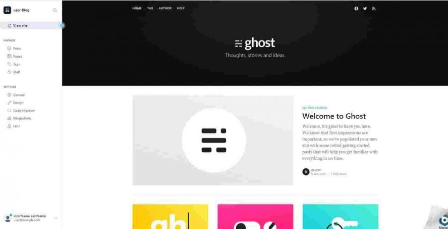 ghost interface