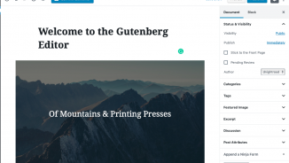 Gutenberg - What to expect?