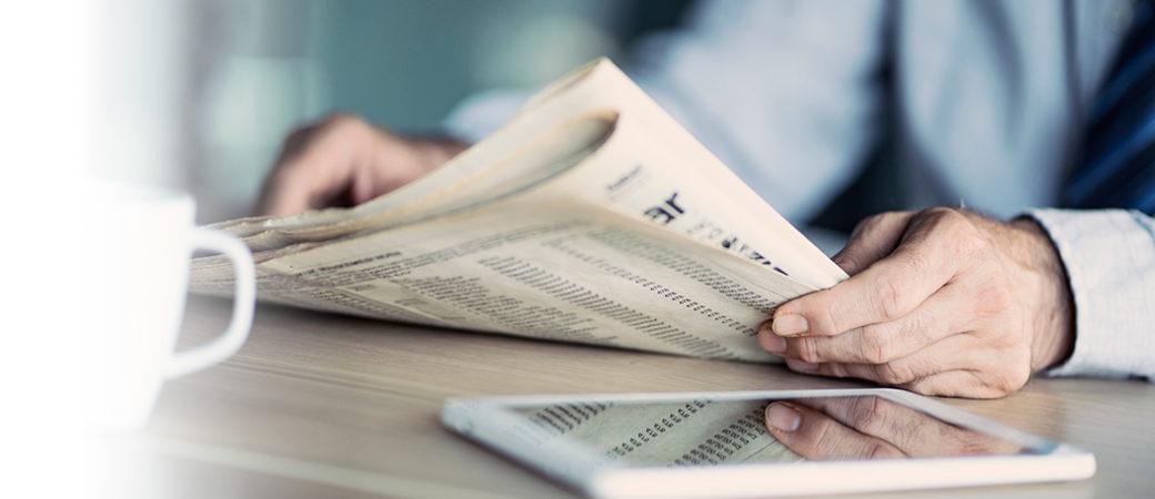 News finance paper