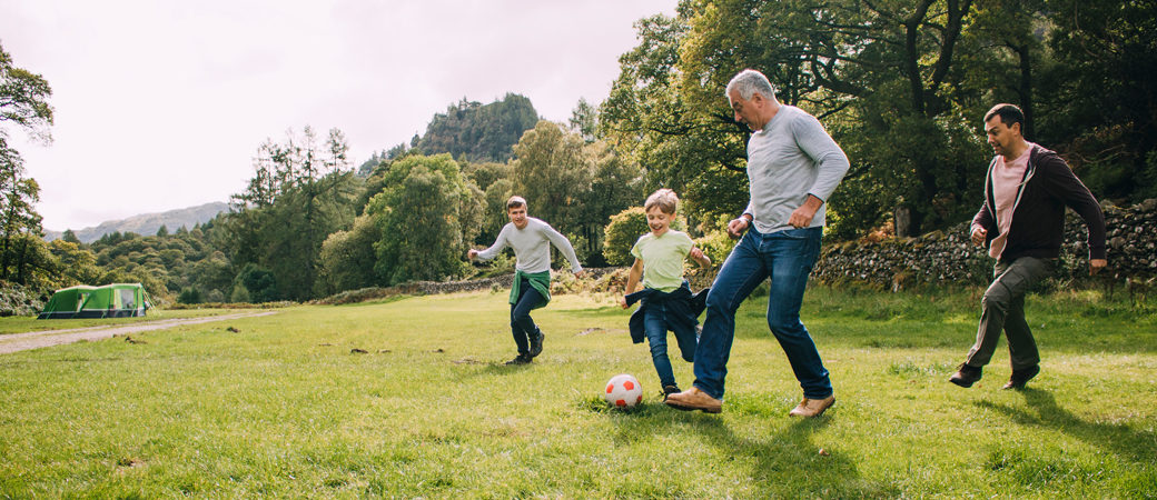Retirement succession football game