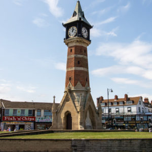 Skegness office clock tower